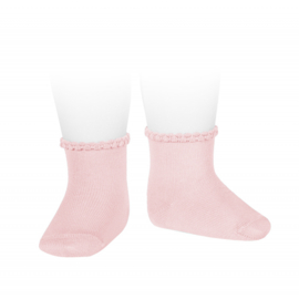Cóndor Socks Pattern Cuff 2748/4 Roze (500)