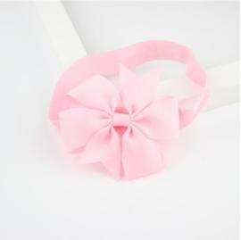 Haarband Vlinderstrik Roze