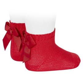 Cóndor Socks Perle Strik 2007/4 Rood (550)