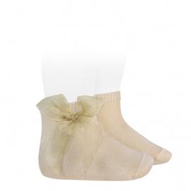 Cóndor Socks Organza Strik 2439/4 Linen (304)