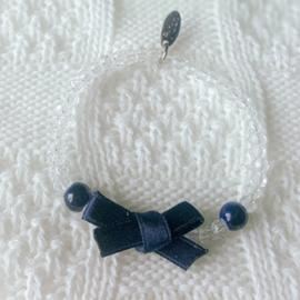 Armband satijnen strik 2