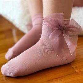 Cóndor Socks Organza Strik 2439/4 Pale Pink (526)