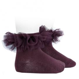 Cóndor Socks Tule 2494/4 Paars (197)