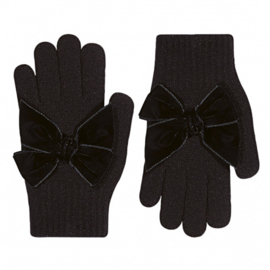 Cóndor Handschoentjes Velvet Strik 50.667.011 Zwart (900)