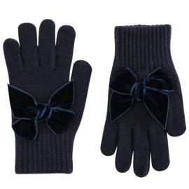 Cóndor Handschoentjes Velvet Strik 50.667.011 Navy (480)