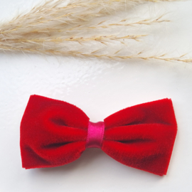 Haarclip 8cm Velvet Red (550)