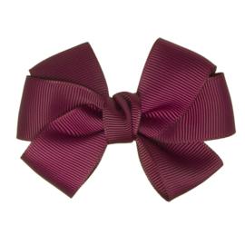 Siena Haarclip Ribbon 7114 Burgundy (575)