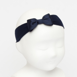 Siena Haarband Ribbon Strik 6610 Navy (480)