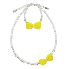 Rian Witte Parel-Sieraden Ribbon Strik AK218 Yellow (632)