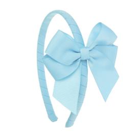 Siena Diadeem Ribbon Strik 6779 Blauw (410)