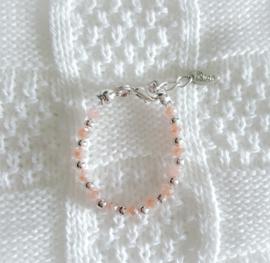 Baby Armbandje Roze Tinten 2