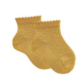Cóndor Socks Micro Pattern 2597/4 Mustard (629)