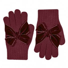 Cóndor Handschoentjes Velvet Strik 50.667.011 Garnet (575)