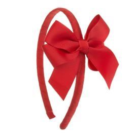 Siena Diadeem Ribbon Strik 6779 Rood (550)