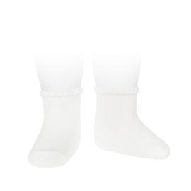 Cóndor Socks Pattern Cuff 2748/4 Wit (200)