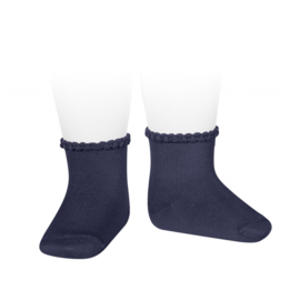 Cóndor Socks Pattern Cuff 2748/4 Navy (480)