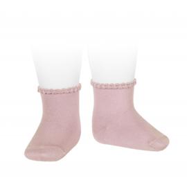 Cóndor Socks Pattern Cuff 2748/4 Pale Pink (526)