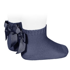Cóndor Socks Perle Strik 2007/4 Navy (480)