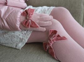 Cóndor Handschoentjes Velvet Strik 50.667.011 Pale Pink (526)