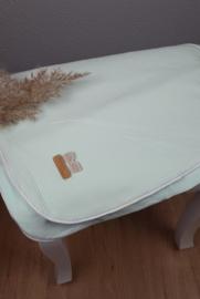 Tricot deken, mintgroen 75 x 100 cm, zomer