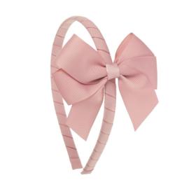 Siena Diadeem Ribbon Strik 6779 Pale Pink (526)