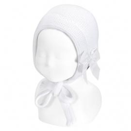 Cóndor Baby Bonnet Muts 50.520.011 Wit (200)