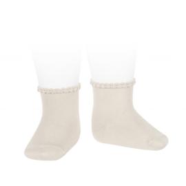 Cóndor Socks Pattern Cuff 2748/4 Linen (304)