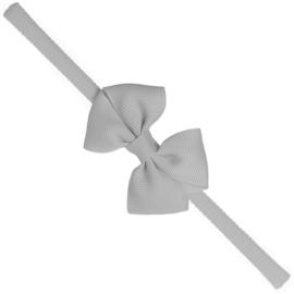 Siena Haarband Smal Ribbon Strik 7151 Grijs (221)
