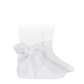 Cóndor Socks Organza Strik 2439/2 Wit (200)