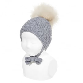 Cóndor Baby Bonnet Muts 50.033.011 Grijs (230)