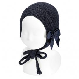 Cóndor Baby Bonnet Muts 50.520.011 Navy (480)