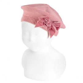 Cóndor Baret Velvet Strik 50.104.010 Pale Pink (526)