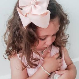 Ketting roze hart