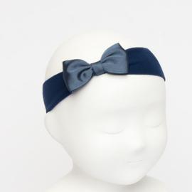 Siena Haarband Ribbon Strik 6610 Blauw