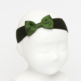 Siena Haarband Ribbon Strik 6610 Groen (780)