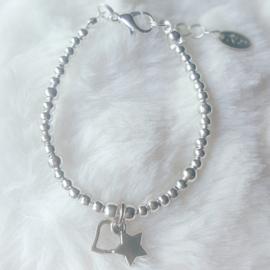 AMZ202-221 Armband Zilver