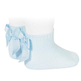 Cóndor Socks Perle Strik 2007/4 Lichtblauw (410)