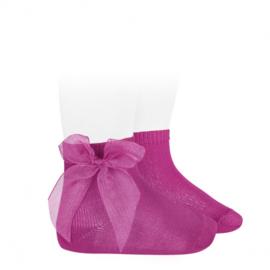 Cóndor Socks Organza Strik 2439/4 Fuchsia (509)