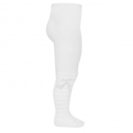 Cóndor Maillot Streep Texture Nylon 2453/1 Wit (200)