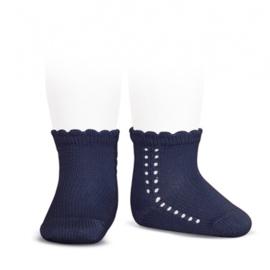Cóndor Socks Openwork 2569/4 Navy (480)