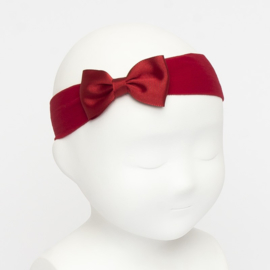 Siena Haarband Ribbon Strik 6610 Rood (550)