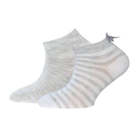 Ewers Sneakers 2-pack 201153 Grijs (0001)