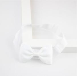 Haarband Strik Wit