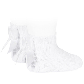 Cóndor Socks Perle Strik 2007/4 Wit (200)