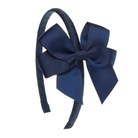 Siena Diadeem Ribbon Strik 6779 Navy (480)