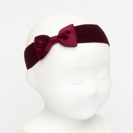 Siena Haarband Ribbon Strik 6610 Burgundy (575)
