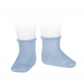 Cóndor Socks Pattern Cuff 2748/4 Blush (446)