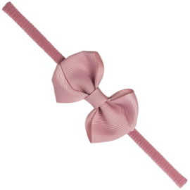Siena Haarband Smal Ribbon Strik 7151 Pale Pink (526)