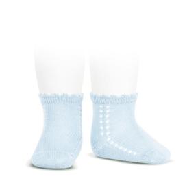 Cóndor Socks Openwork 2569/4 Lichtblauw (410)