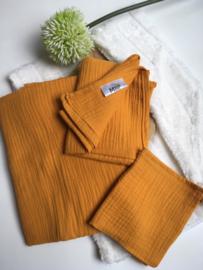 Mini & Maxi: Hydrofiele doek oker geel